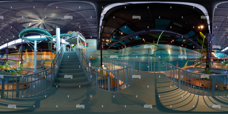360 View Of Albuquerque Radisson Hotel New Indoor Waterpark
