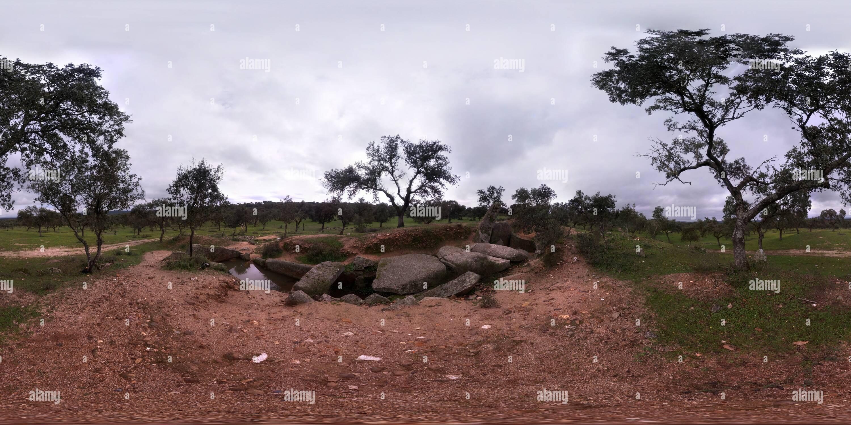 Dolmen de Lacara - Stock Image