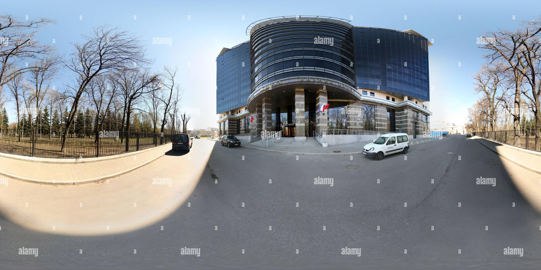 360 degree panoramic view of Bisness-center-Birzha-SPb-Russia