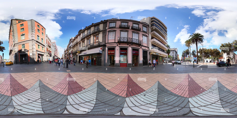 Street map Las Palmas Spain