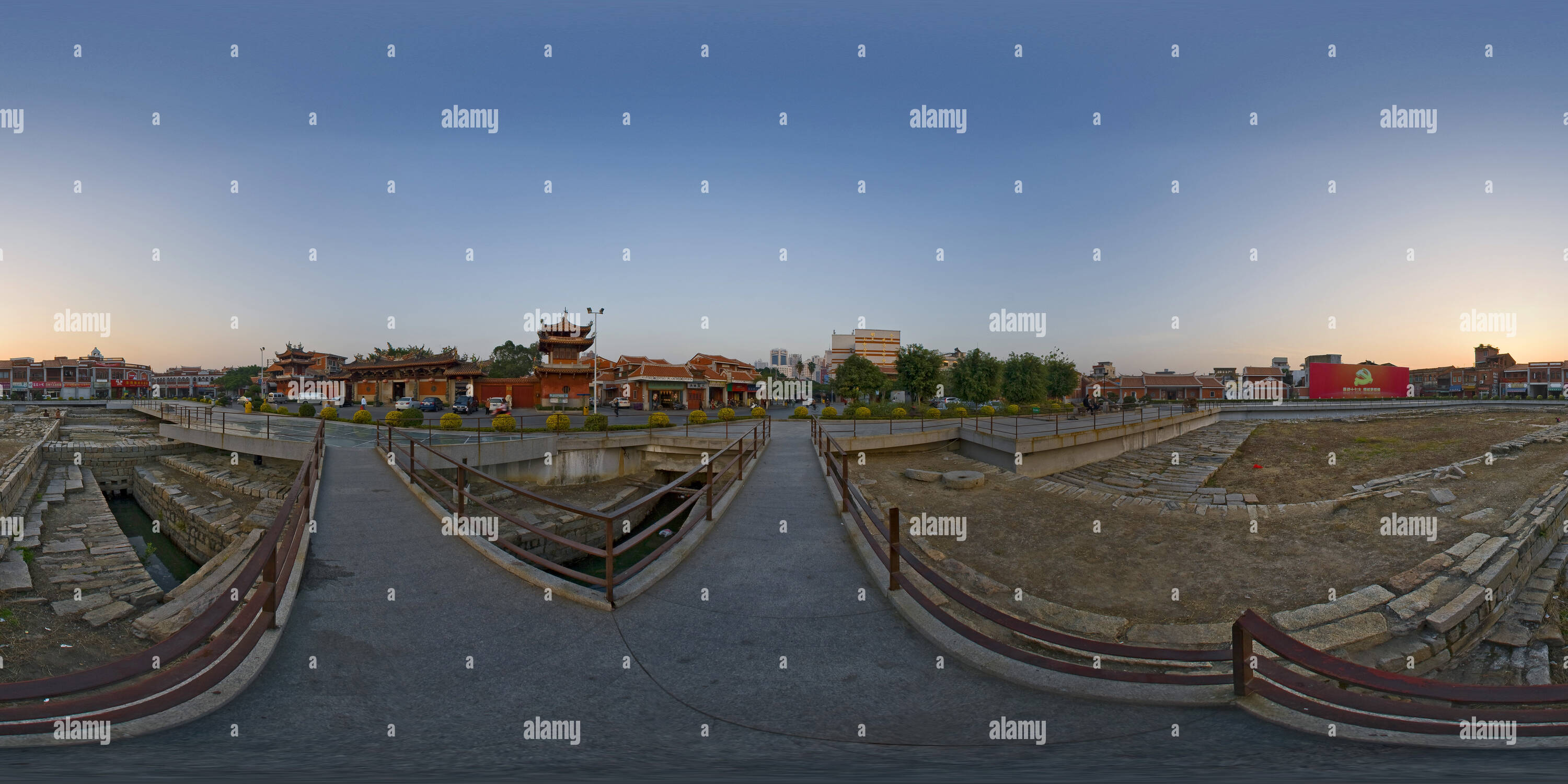 City Of South Gate >> 360 View Of South Gate Site Of The Ancient City Of Quanzhou