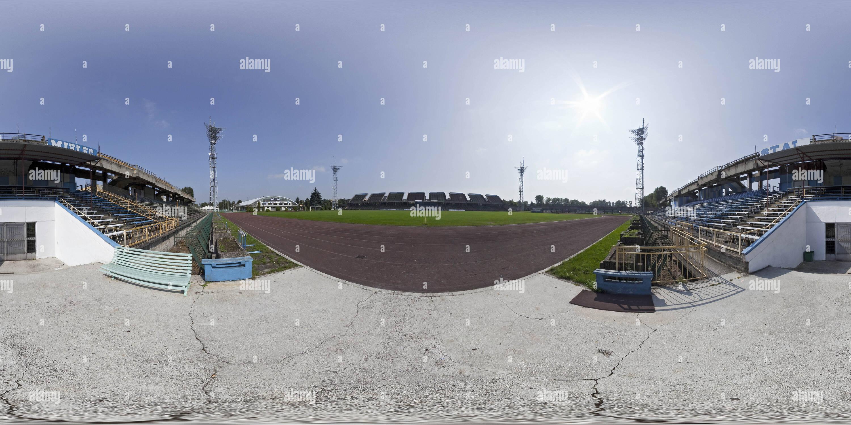 "360 degree panoramic view of Stadium ""FKS Stal Mielec"""