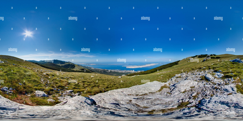 360 degree panoramic view of Alančić - 1