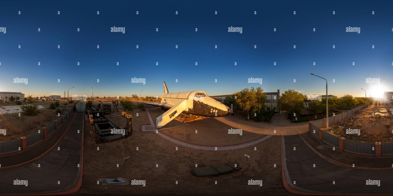 Baikonur Cosmodrome Museum: Buran - Stock Image