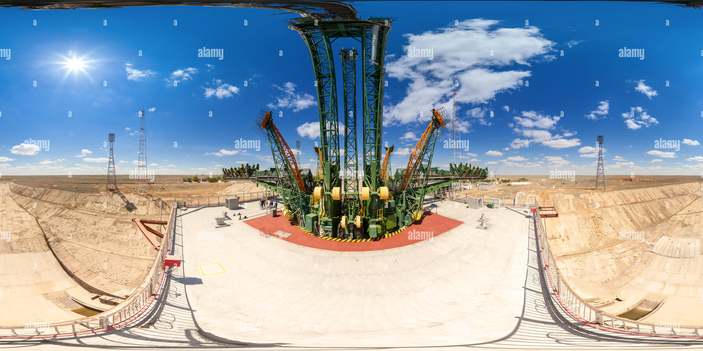 Gagarin's Start. Baikonur - Stock Image