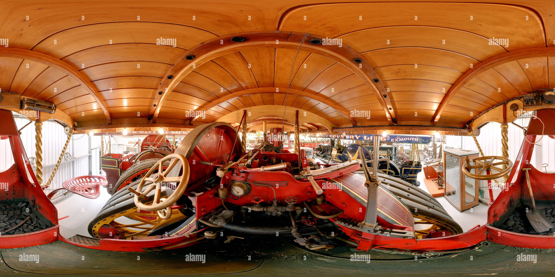 Traction Engine - Gladiator - Stock Image