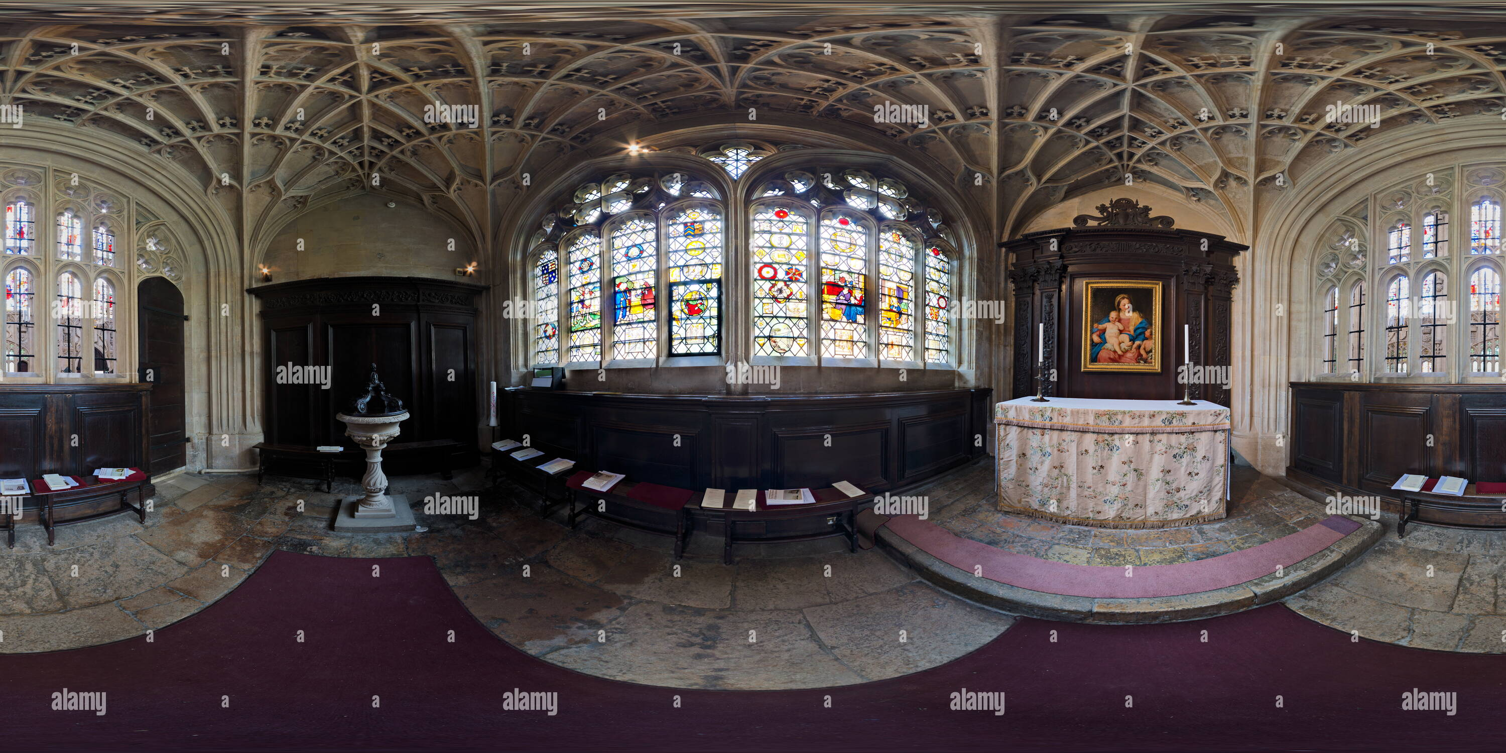 Whichcote Chapel, King's College, Cambridge - Stock Image