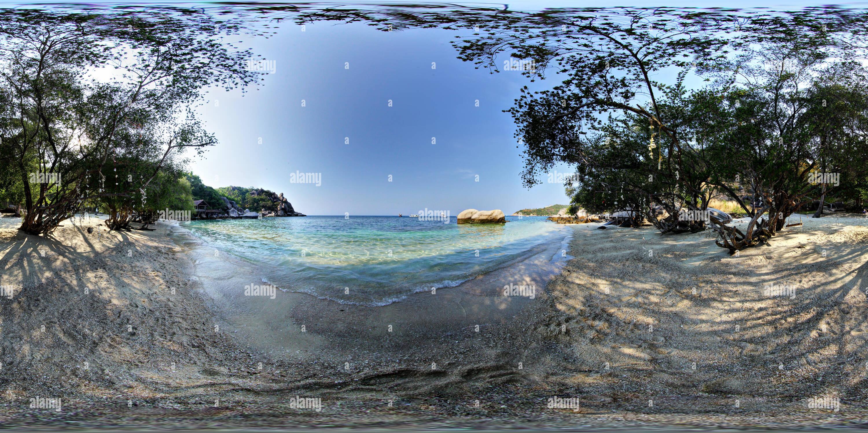 360 View Of Freedom Beach Koh Tao 219448844 Alamy