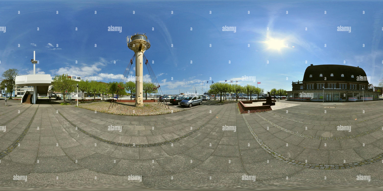 360 degree panoramic view of Kiel - Schiffahrts Museum