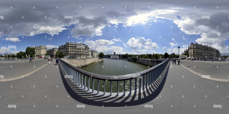 Pont Saint-Louis Bridge - Stock Image