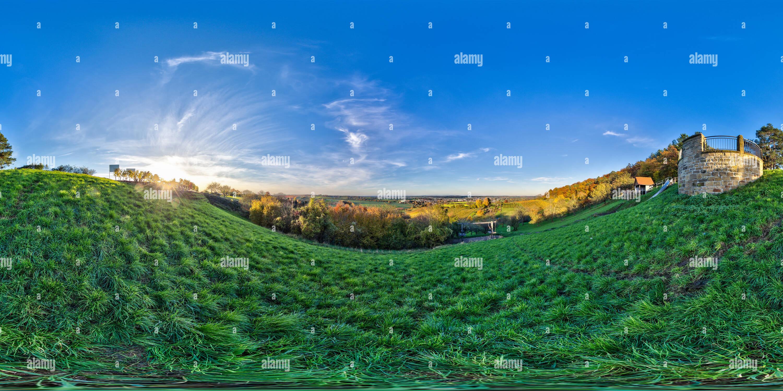 360 degree panoramic view of Derdinger Horn