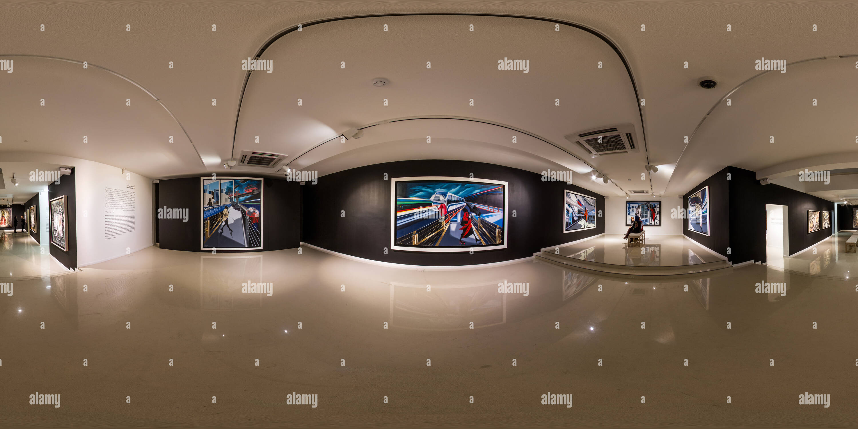 Boom Art Gallery Nov Dec 2014 Vision Of Three 06 - Stock Image