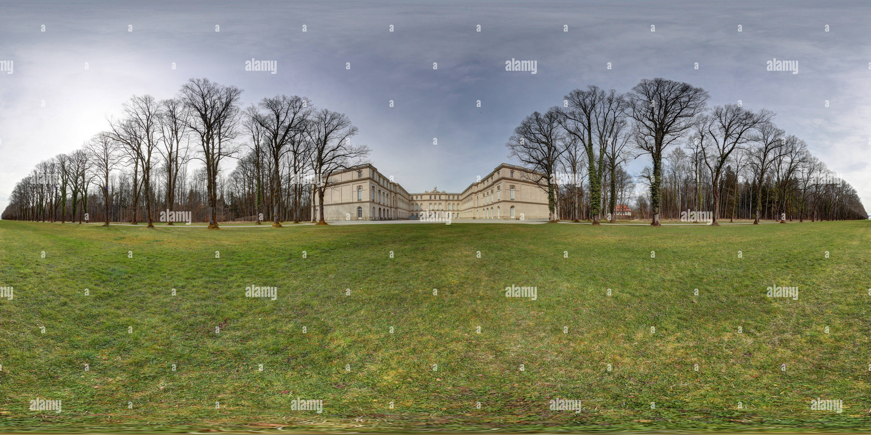 Herreninsel castle Herrenchiemsee II - Stock Image