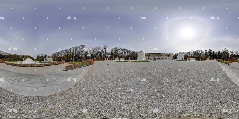Herreninsel castle Herrenchiemsee IV - Stock Image