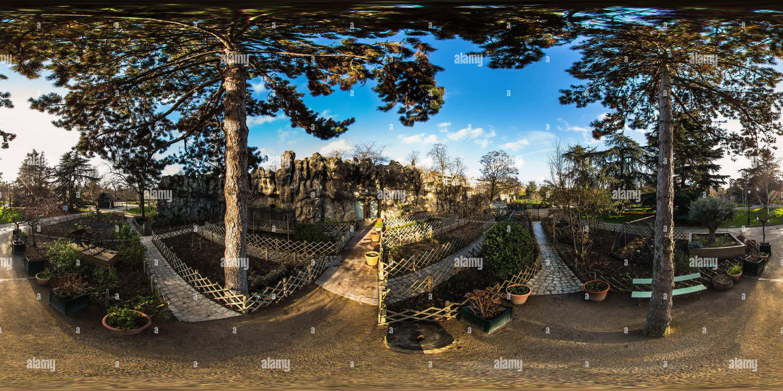 360 View Of Le Potager Vegetable Garden At Le Jardin D