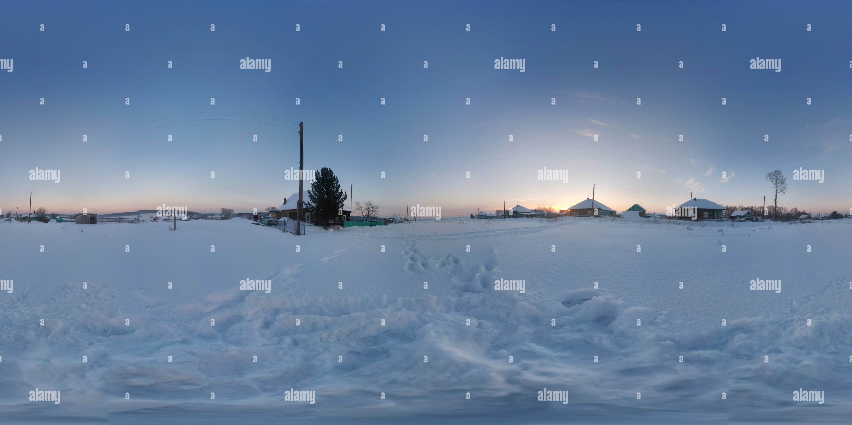 Sibiria, Borisovo - Stock Image