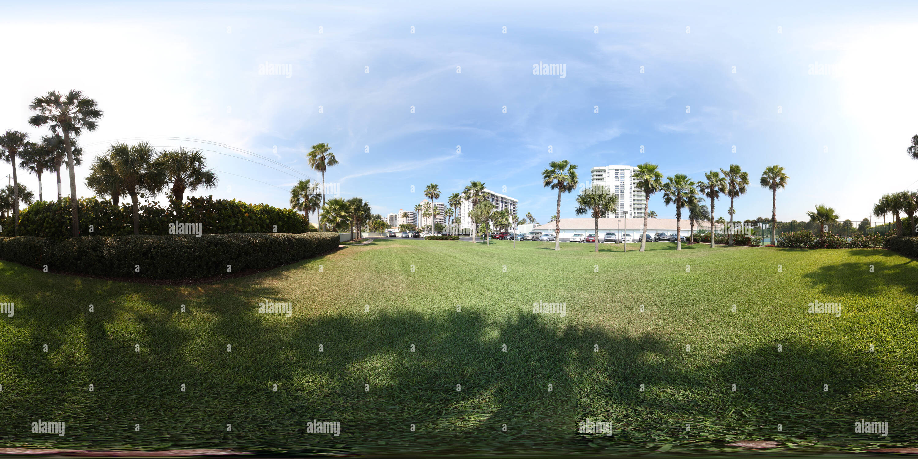 360 View of Aquanique Ocean Club West Lawn 223894029 - Alamy