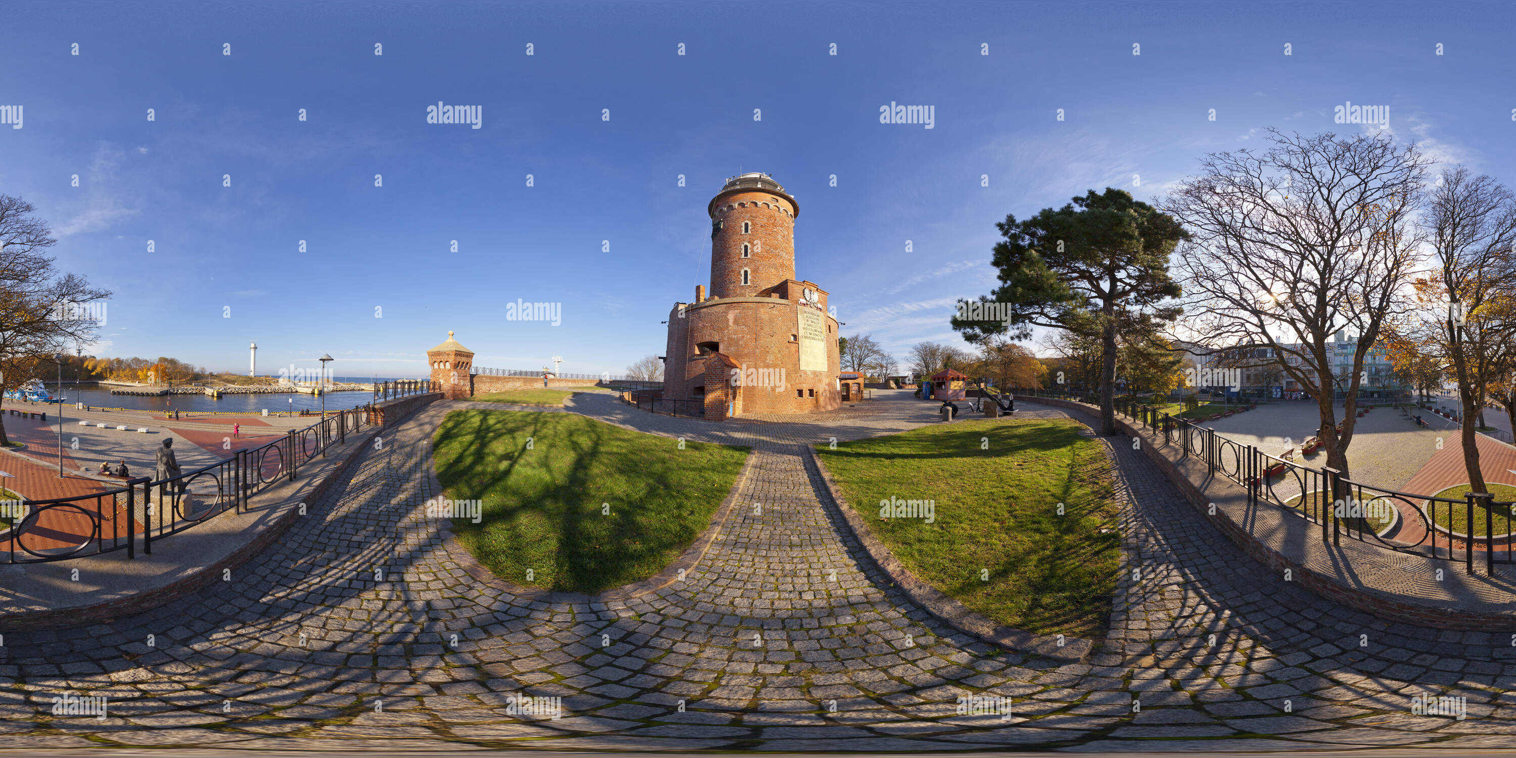 Kolberg, Lighthouse - Stock Image