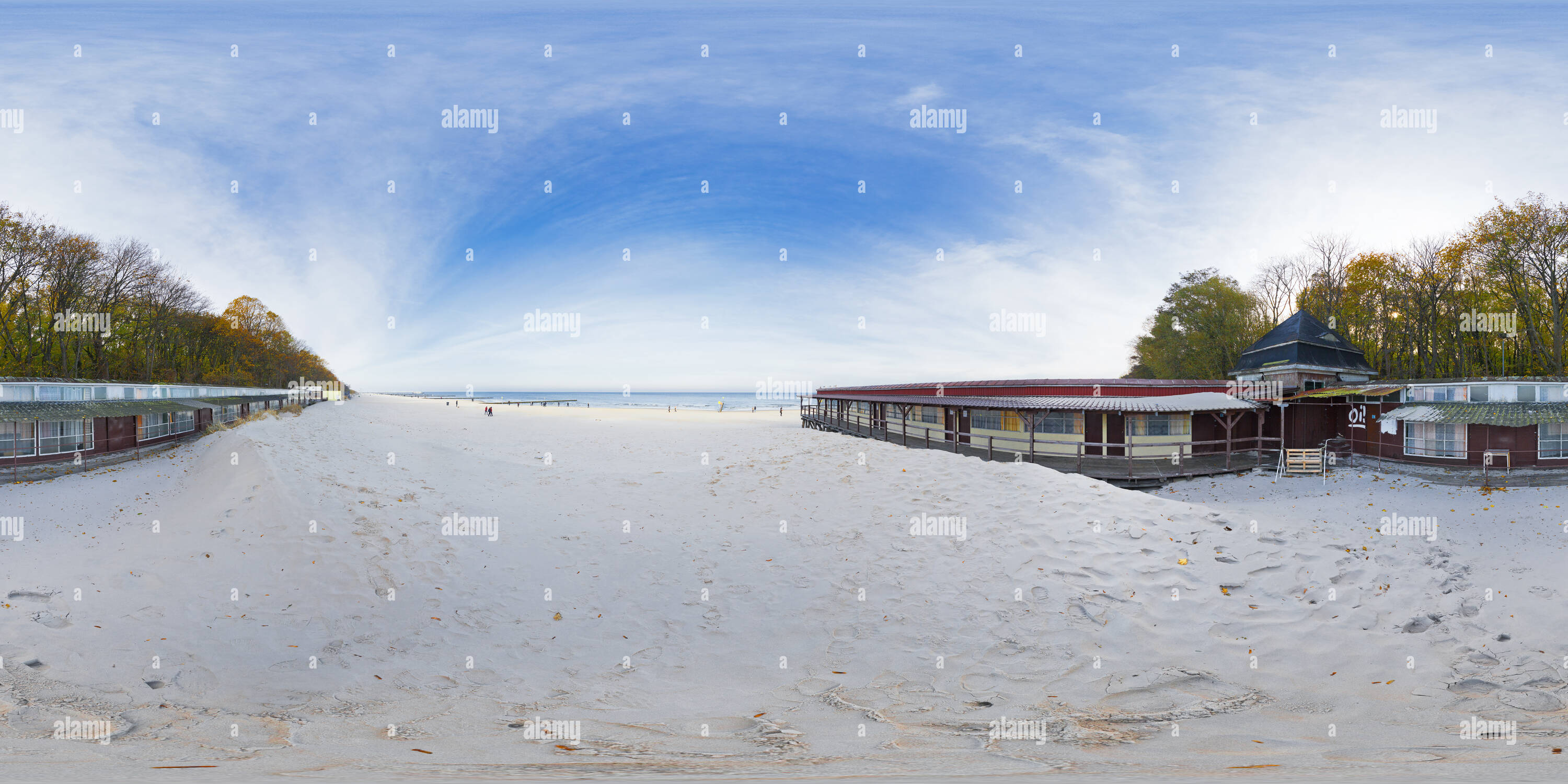 Kolberg, Beach - Stock Image