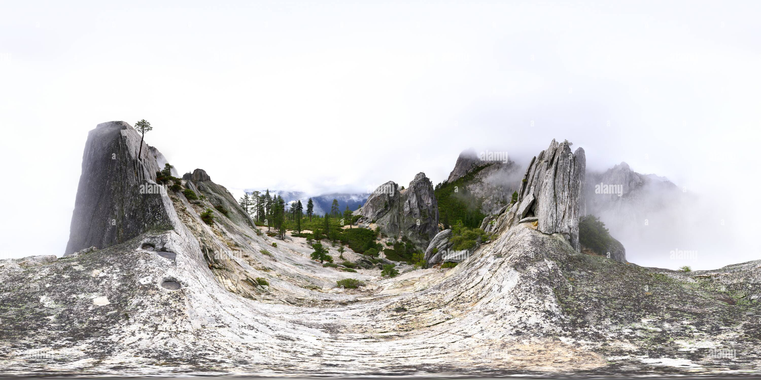 Castle Crags [2] - Stock Image