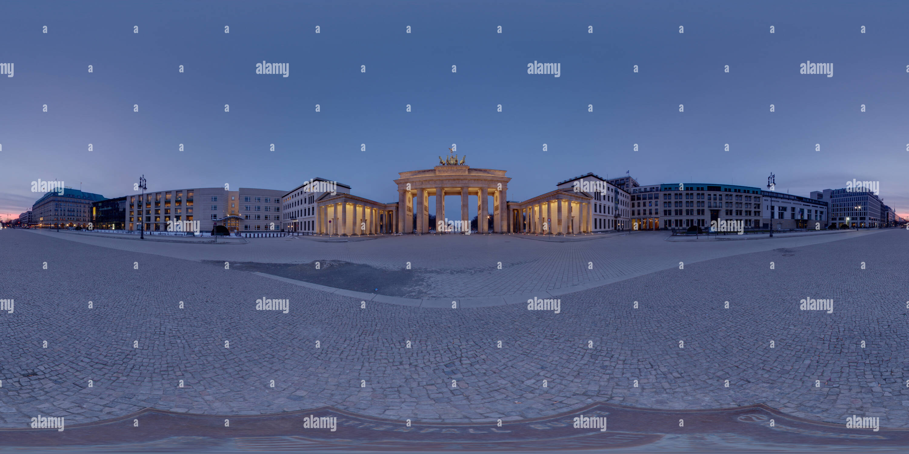 Brandenburger Tor - Berlin - Stock Image