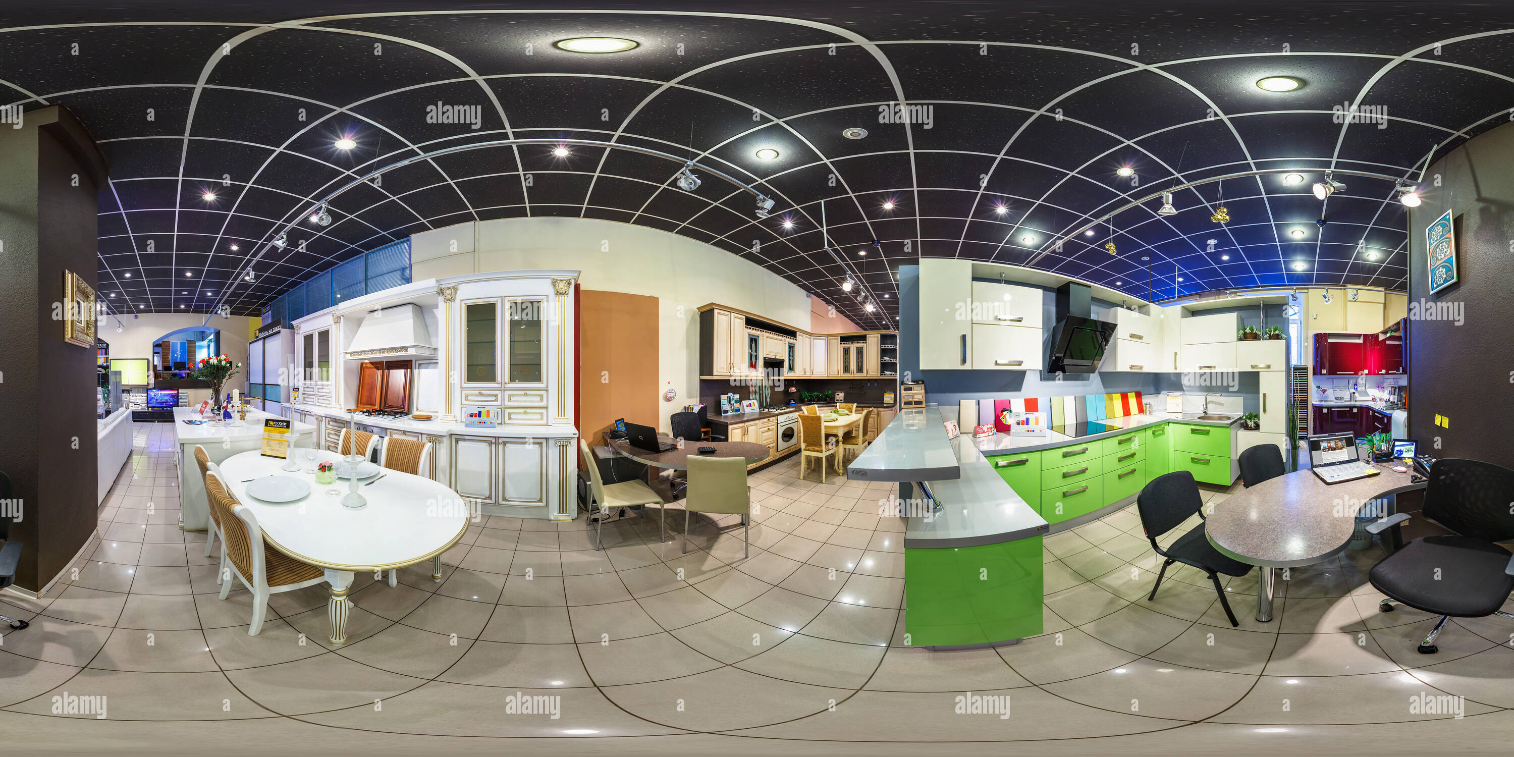 moscow russia march 4 2014 full 360 degree panorama in equirectangular spherical