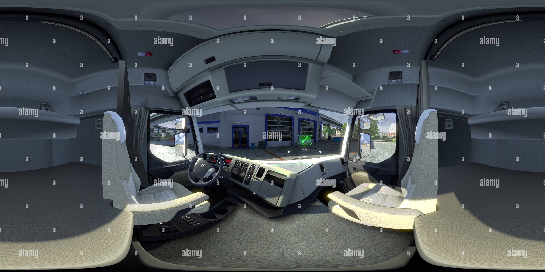 360 View of Euro Truck Simulator 2 — Renault Premium