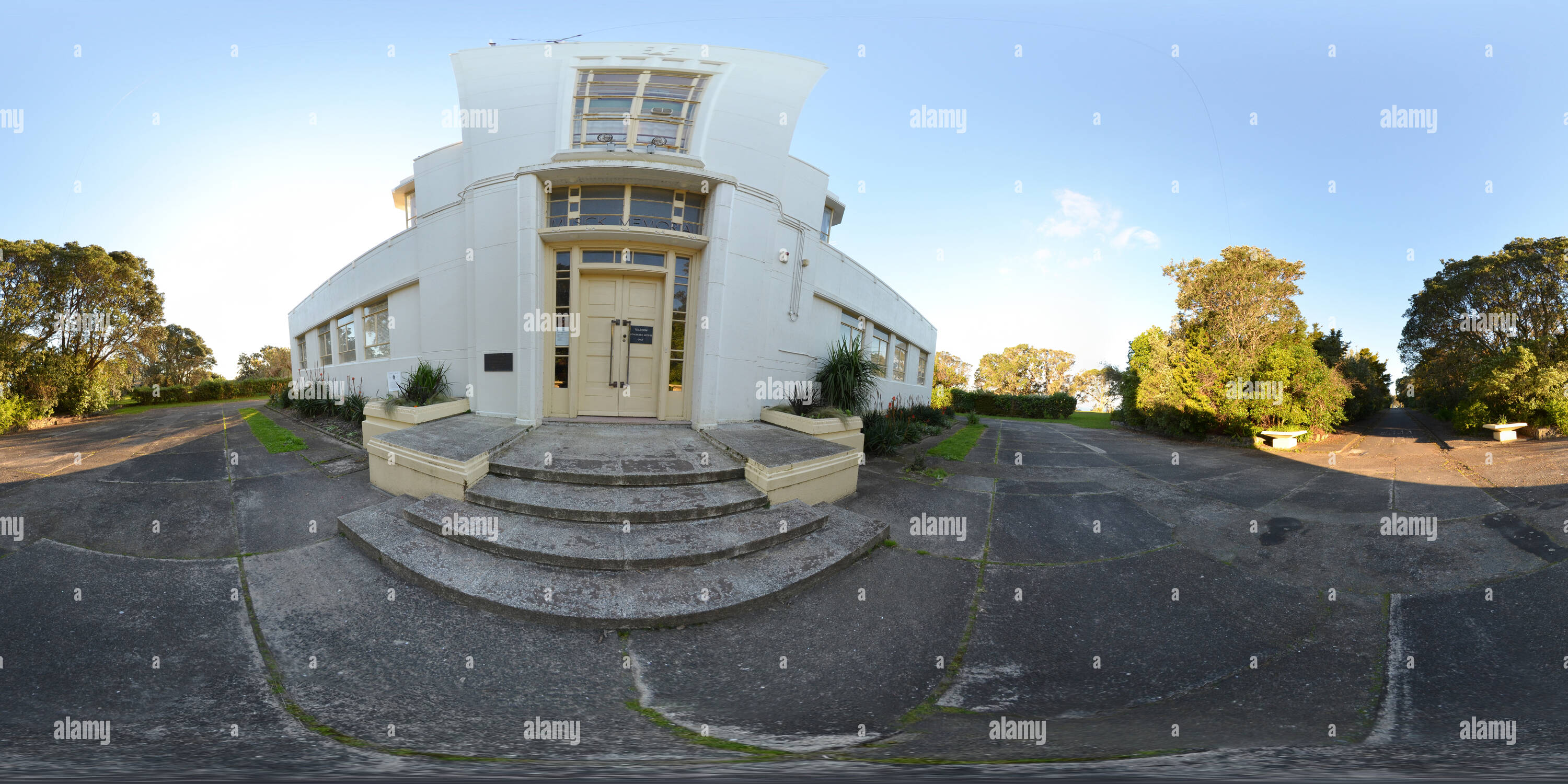 Music point /telecom building, Bucklands beach, Auckland - Stock Image