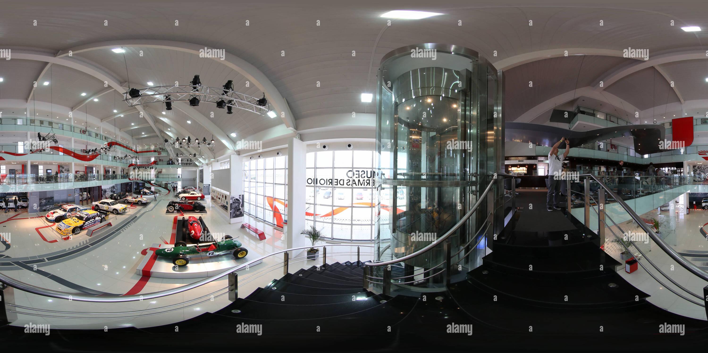 MUSEO DEL AUTOMOVIL EN TERMAS DE RIO HONDO  - Stock Image