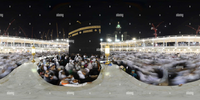 360 View Of Al Masjid Al Haram Al Haram Mosque Alamy