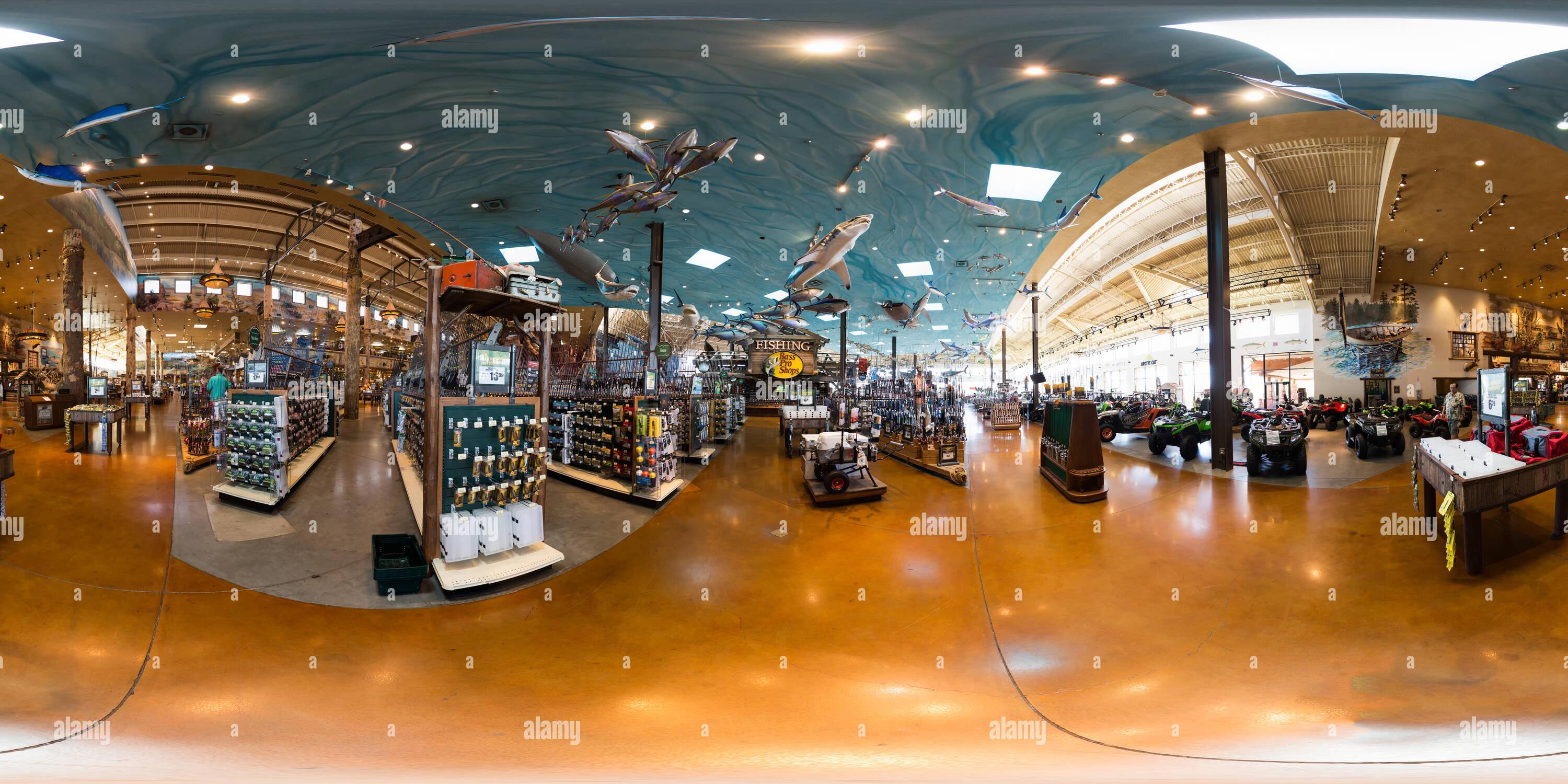 bd34ab3909 360 View of Bass Pro Shops 230347245 - Alamy