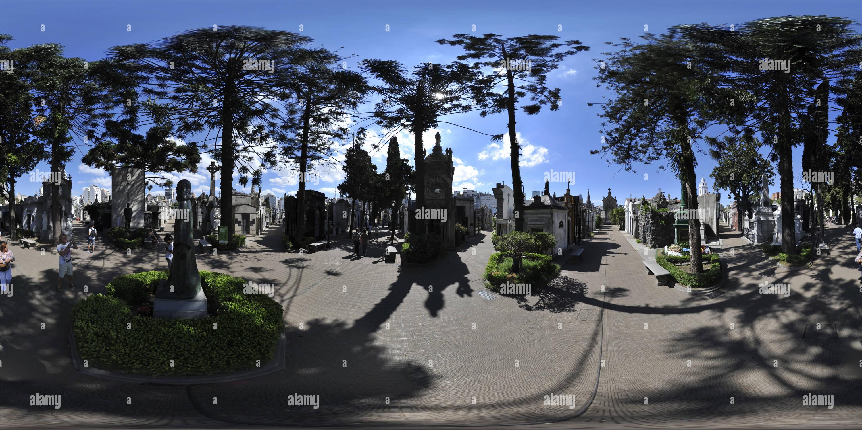 La Recoleta Cemetery, Buenos Aires - Stock Image