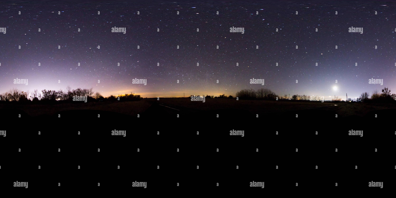 2019-01-01 Malomszög - Dark Sky - Stock Image