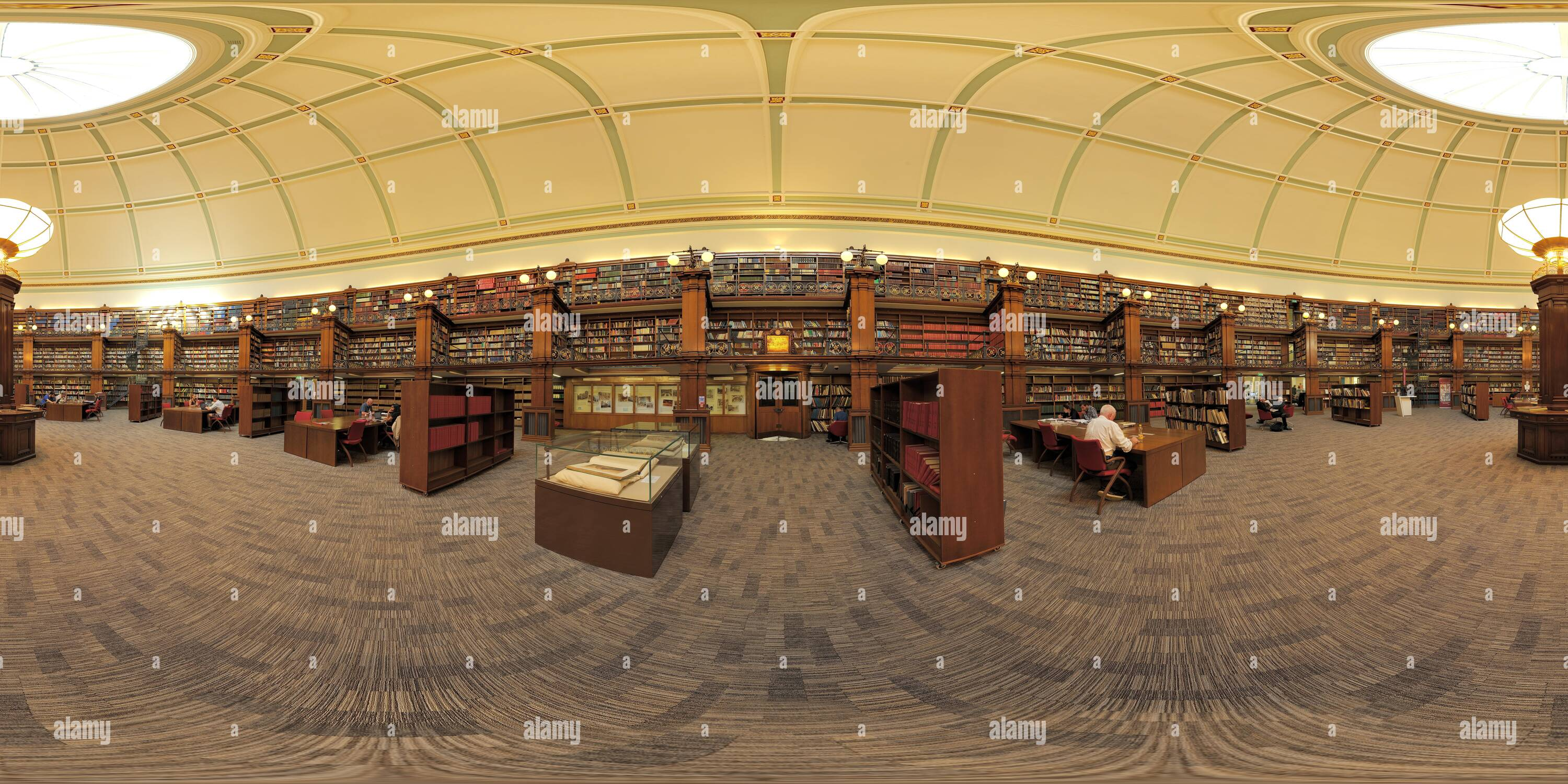 The Picton Reading Room at Liverpool Central Library. - Stock Image