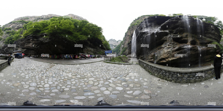 Chegem waterfalls - Stock Image
