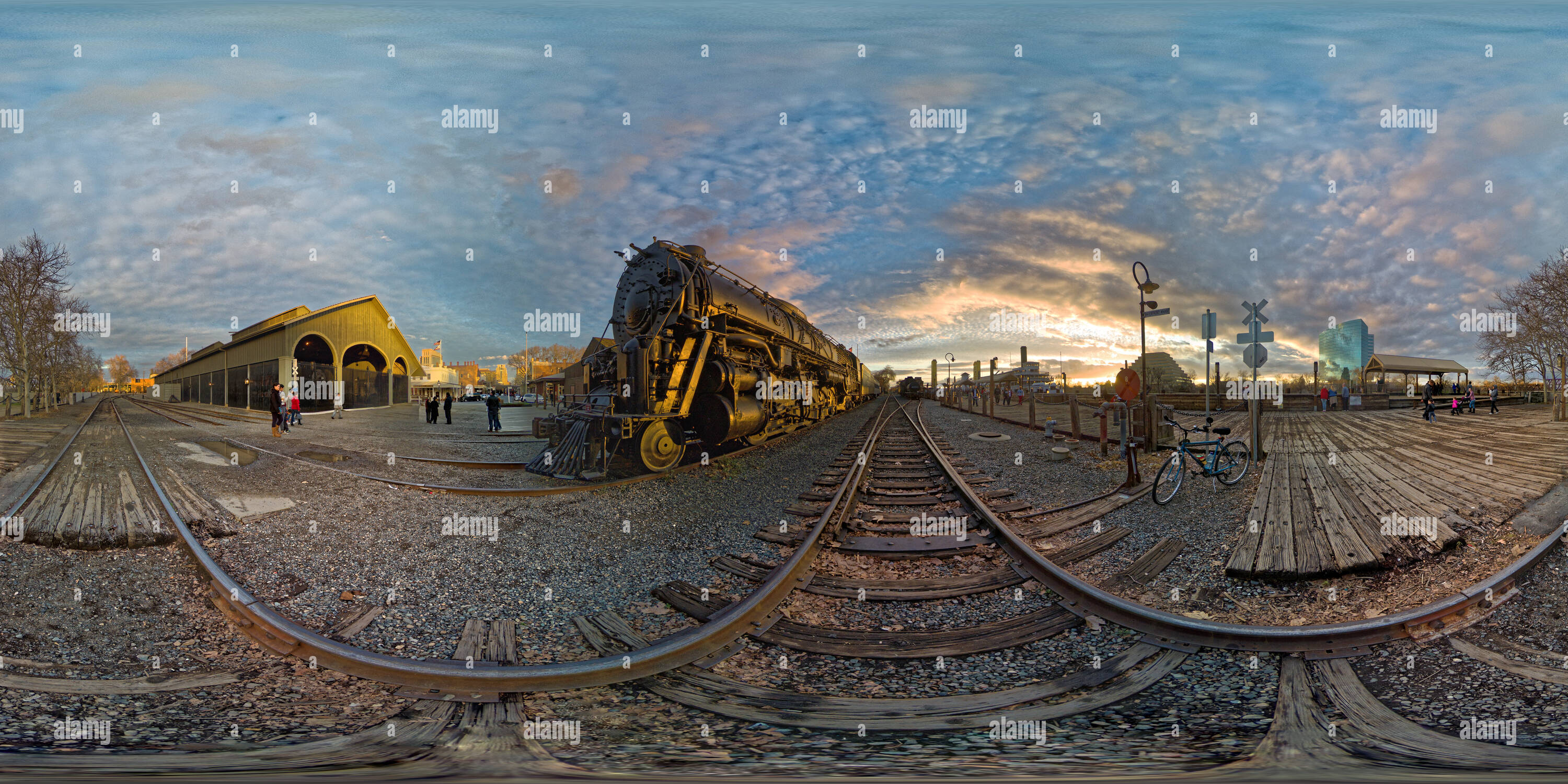 The End Of Steam - Stock Image