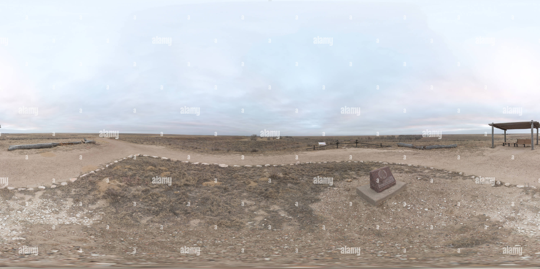 Sand Creek massacre - Stock Image