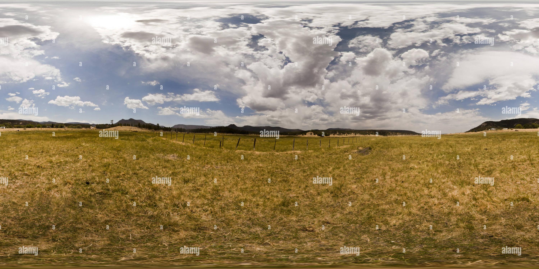 Nutrioso Meadow, Nutrioso, Arizona USA - Stock Image