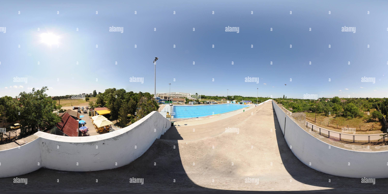 Swimming pool Subotica - Stock Image