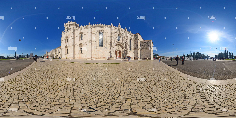 Monasterio de los Jeronimosde Lisboa. Portugal - Stock Image