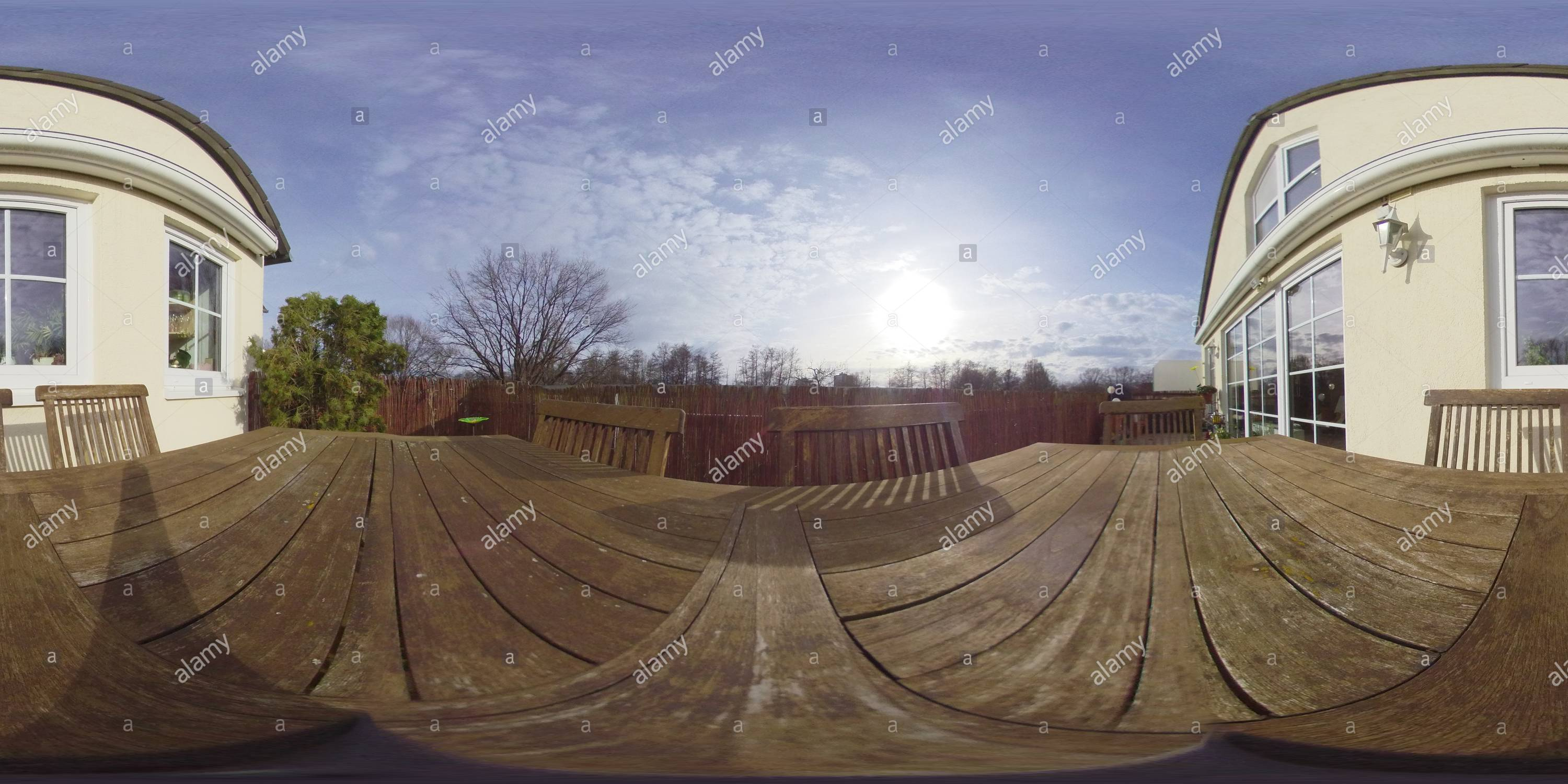 Test Insta360 One - Stock Image
