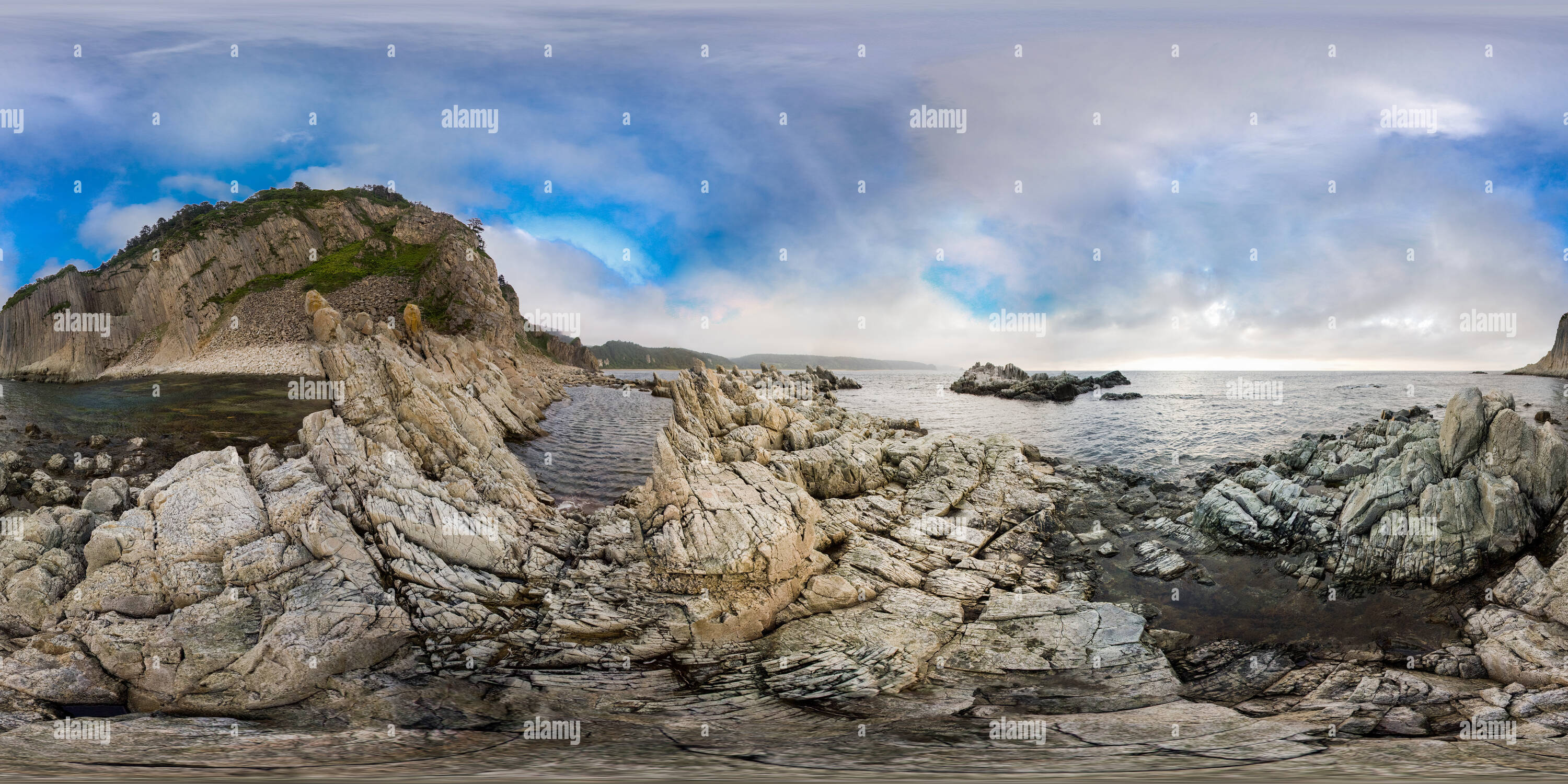 Cape Stolbchaty - Stock Image