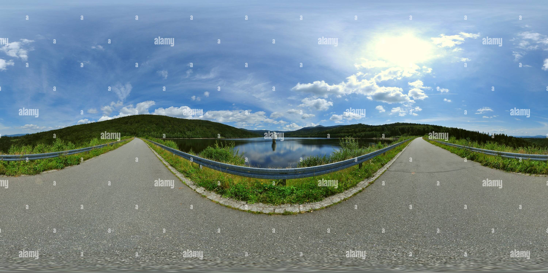 360 degree panoramic view of Frauenau - Trinkwasser Talsperre