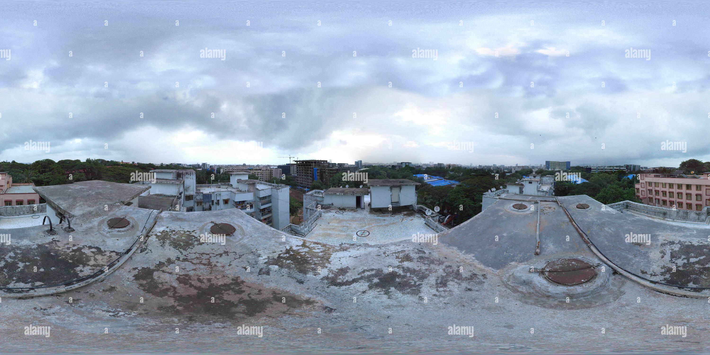Vista panorámica en 360 grados de Andheri