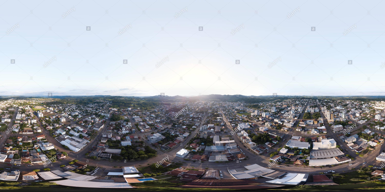 Vista panorámica en 360 grados de Guapore 24 12 18 Centro