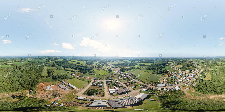 Vista panorámica en 360 grados de Vista Alegre do Prata