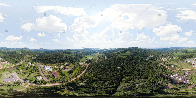 Vista panorámica en 360 grados de União da Serra 2019