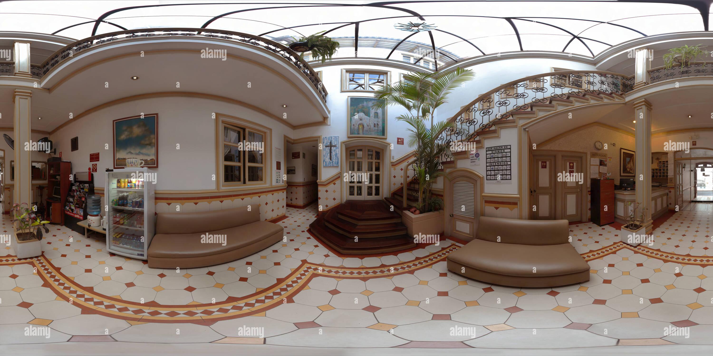 Vista panorámica en 360 grados de La Orquidea Hotel