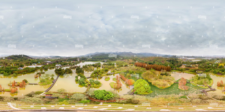 Vista panorámica en 360 grados de Forest Resort Sambora