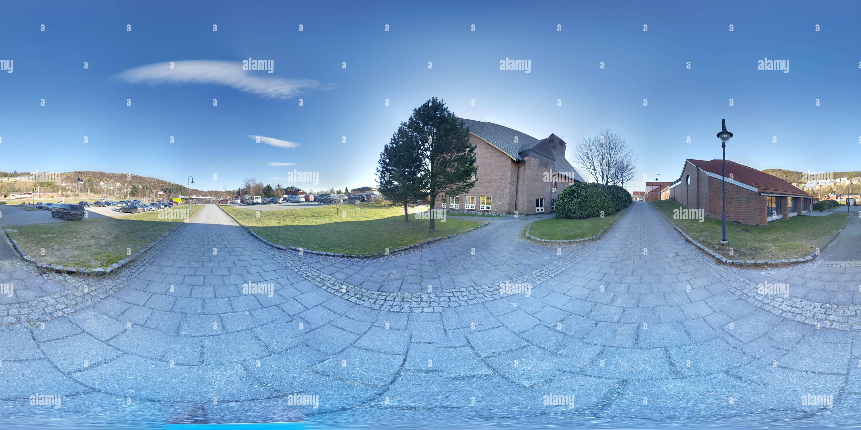 Vista panorámica en 360 grados de Pano de Noruega
